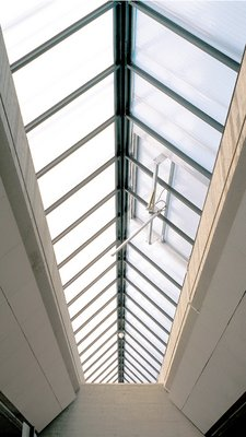 LAMILUX Continous Rooflight W/R - Heinrich Heine University Düsseldorf, Germany